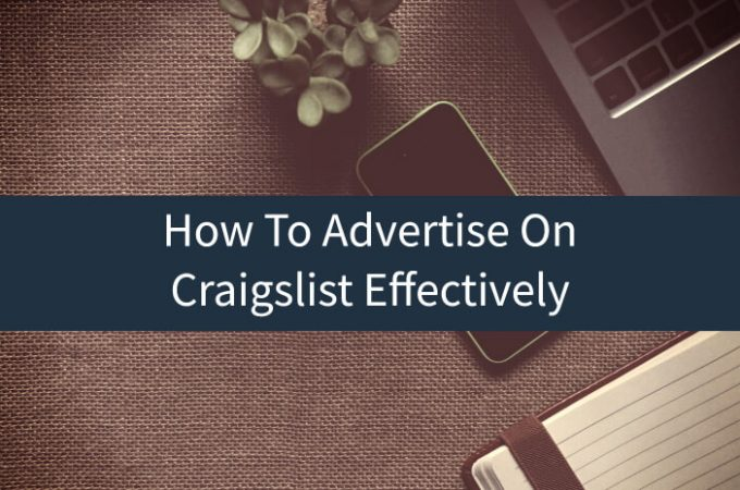 Why Should You Advertise The Business on Craigslist?