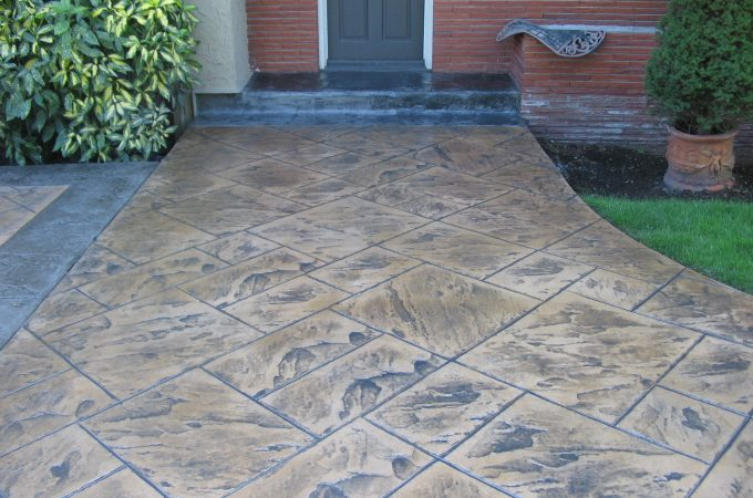 How Can We Construct Stamped Concrete On Our Own?