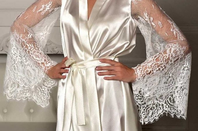 Purchase Long Silk Robe Online At Affordable Prices
